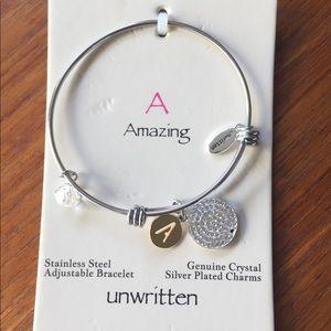 Letter A bracelet